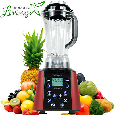 New 3.5Hp Digital Touch Pro Commercial Fruit Smoothie Blender Juice Mixer ,