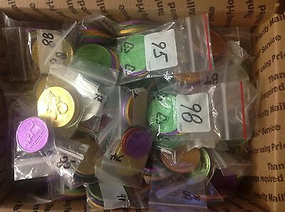 Lot Of Over 180 Sets Of Doubloon From 26 Different Krewes Alla Thru Zulu Plus