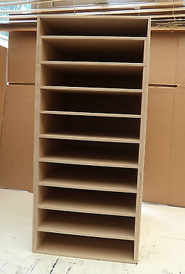 Hand Crafted Freestanding Large A4 Mdf Paper Storage unit with enclosed top