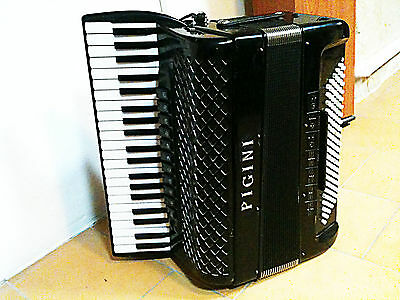 Accordéon piano PIGINI 55p Senior - basses chromatiques convertor converter
