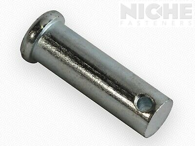 ITW Clevis Pin 1/2 x 1-27/64 Low Carbon Steel Zinc Clear (50 Pieces)