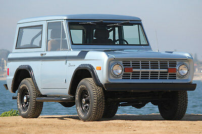 1977 Ford Bronco  1977 Ford Bronco Refreshed with Frame-off Stunning Paint an Color  Drives Great