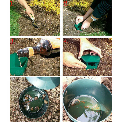 1 Slug Snail Beer Easy Trap Traps Garden Soil Grass Beer No Chemicals Safety
