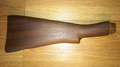 Lee Enfield No.4 Mk.1 Buttstock Unissued Long Branch Canadian Arsenal Walnut