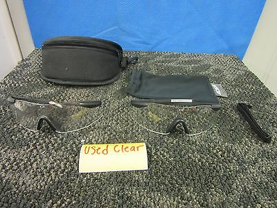 2 Ess Oakley Ice Protective Eyeshield Ballistic Air Soft Shooting Glasses Used