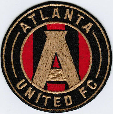 MLS Atlanta United FC Major League Soccer Football Iron On Embroidered Patch