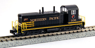 KATO 1764372 N Scale Northern Pacific #106 EMD NW2  Switcher 176-4372 - NEW