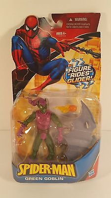 Hasbro Spider-Man Classic Green Goblin with Glider Action Figure 2009