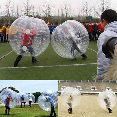 1.5M PVC Bumper Zorbing Human Knocker Ball Bubble Soccer Outdoor Sports