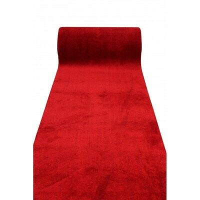 New Entrance CELEBRITY Party Red Carpet Runner 100cm(w) Rubber Backed p/metre