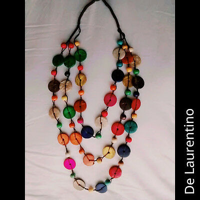Necklace/coconut/shell/beads/100%natural
