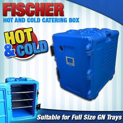 """""""brand New"""" Hot And Cold Portable 12 Full Size Tray Thermo Catering Hot Box"""