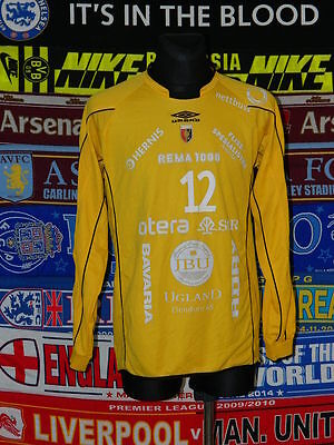 4/5 Øyestad IF adults XL #12 Sehović football shirt jersey trikot skjorta soccer
