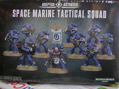 Warhammer 40,000 Adeptus Astartes Space Marine Tactical Squad