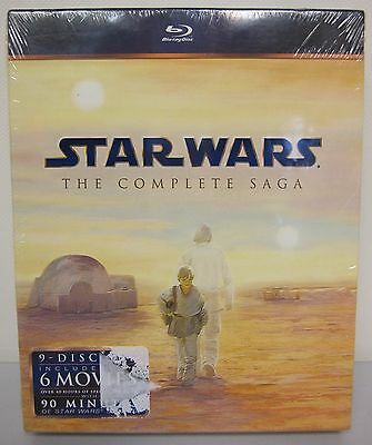 Star Wars - THE COMPLETE SAGA  9 DISC FILM COLLECTION(Blu-Ray)