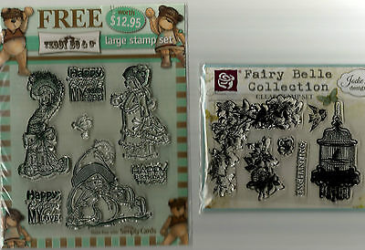 Large Stamp Set & Small Clear Stamp Set.