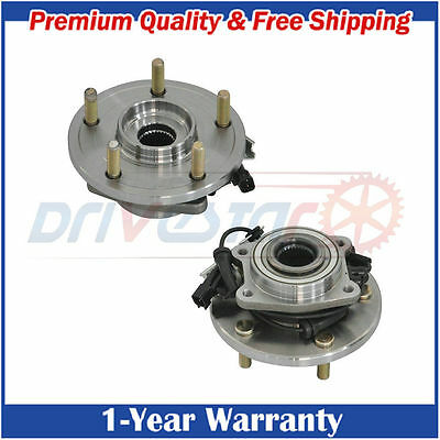 Pair:2 New Front Wheel Hub & Bearing Driver and Passenger for VW Dodge Chrysler