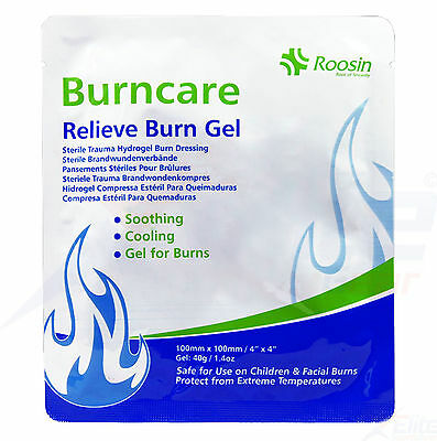 Roosin Burncare Hydrogel Relieve Burn Dressing Pain Relief Scald Care First Aid