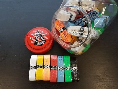 SQUASH TENNIS BADMINTON Quality PU SUPER Grips RRP £5.99 Various Styles