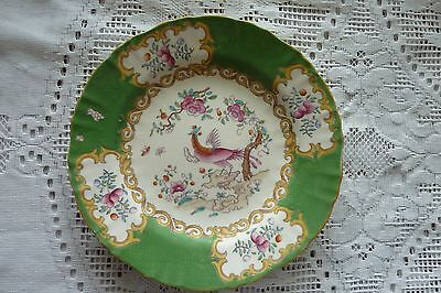 Mintons England Cockatrice Green 17.5 Cm Plate 1928
