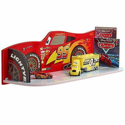 Disney Cars Regal Bücherregal Ablagefach Kinderregal Kindermöbel McQueen 4163