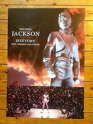 MICHAEL JACKSON/History/Mega Rare 1995 Promotional POSTER/Collectors Item (15)