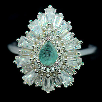 Emerald ring size 6.75