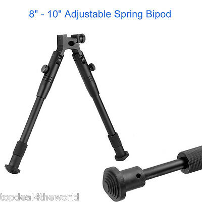 "8""-10"" Adjustable Spring Swivel Bipods Stand for Hunting Shooting Air Rifle Gun"