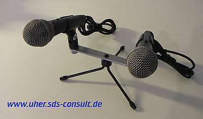 UHER M 634 A/5 Stereo-/Doppel-Mikrofonanlage **NOS**