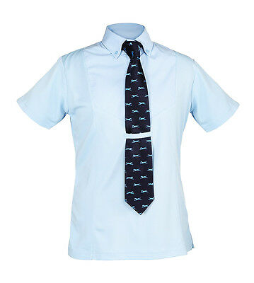 Shires Short Sleeve Childrens Tie Shirt – 9997