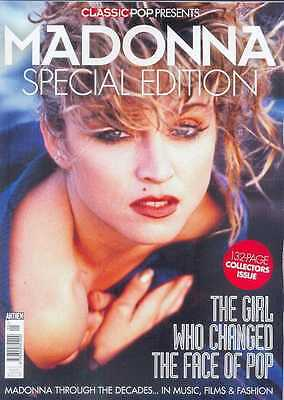 Classic Pop Presents Madonna (132 Page Special Edition Collectors Magazine)