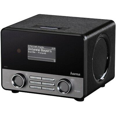 "Hama IR110 Internet-Tischradio Stereo USB Spotify 2,6"" Display WiFi Streaming"