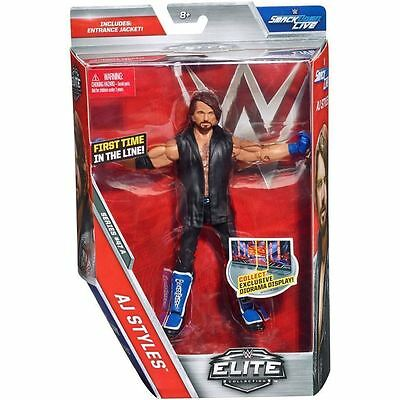 WWE Mattel Elite 47 The Phenomenal One AJ Styles Neu und OVP