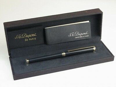 S.T. Dupont Classic Blue Lacquer Ballpoint Pen with the box