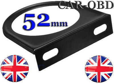 METAL SINGLE GAUGE HOLDER POD STAND DASH MOUNTING BRACKET 52mm CLASSIC CAR RACE