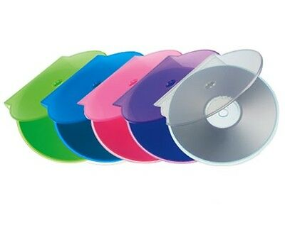 10 x High Quality Plastic C Shell Clam Shell CD DVD Cases Case - Assorted color