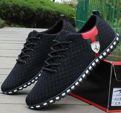 Men's sports shoes Fashion Breathable Casual Athletic Sneakers running Shoes@