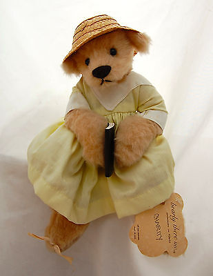 "Teddy Bear Charity with Readable Bilble Linda Spiegel Bearly There 8"" Dress Hat"