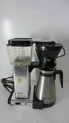 Technivorm Moccamaster 10 Cups Coffee Maker - Polished Silver