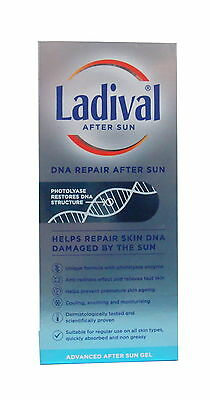 Ladival DNA Repair Advanced After Sun Gel 200ml Photolyase Enzyme Sun Protection