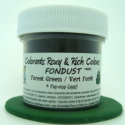 Chocolats Roxy & Rich Powder Colour - Forest Green -  4 g