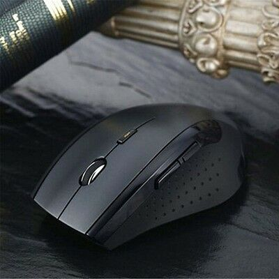 1600DPI USB Wireless Optical Gaming 2.4GHz 6D distance Souris pour ordinateur EH