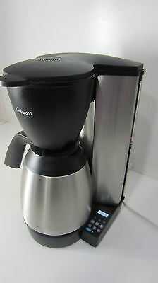 Jura Capresso MT600 10 Cup Coffee Maker w/ Stainless Steel Thermal Carafe