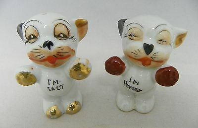Vintage Bonzo Dog Salt & Pepper  Japan (#2)