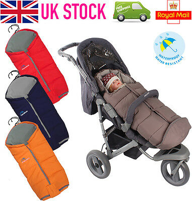 DELUXE Baby Winter Warm Footmuff Cosytoes Infant Thermal Pram Pushchair Blanket