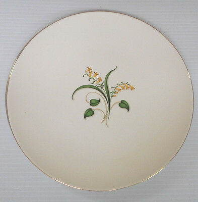 """2 Knowles Forsythia Dinner 10.25"""" Plates - Discontinued"""
