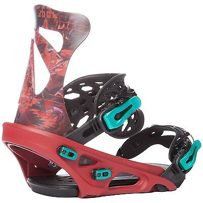 Flux - DS | 2017 - Mens Snowboard Bindings - New | Red