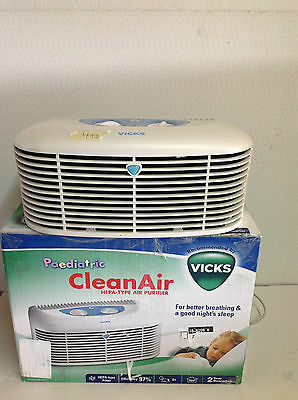 Vicks V-9071 HEPA Air Purifier Suitable solution for clean air Brand New