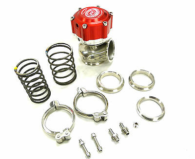 Maximizer 7Psi to 25Psi Compact Wastegate Red 50mm external wastegate 50 mm