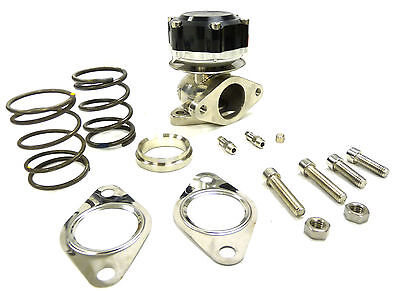 Maximizer 7Psi to 25Psi Compact Wastegate Black 38mm external wastegate 38-mm